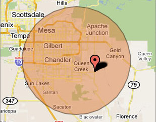 Gilbert Computer Repair Service on-site Virus Removal Service Area